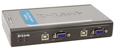 KVM Switch D-Link DKVM-4U 4-port with USB