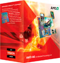AMD A6-3650 (2.60 GHz, 4 ядра, 32 nm, 100W) (AD3650WNGXBOX) box