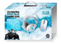 Игровой набор STEELSERIES Frost Blue Bundle (90084)