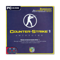 Counter-Strike 1 Антология (2 CD)