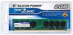 DDR2 2048Mb Silicon Power (SP002GBLRU800S02) 800MHz, PC6400, CL5
