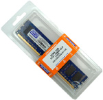 DDR3 1024Mb GOODRAM (GR1333D364L9/1G) 1333MHz, PC3-10600, CL9, (9-9-9-24), 1.5V