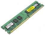 DDR3 1024Mb Kingston (KVR1333D3N9/1G) 1333MHz, PC3-10600, CL9, (9-9-9-24), 1.5V, ValueRAM